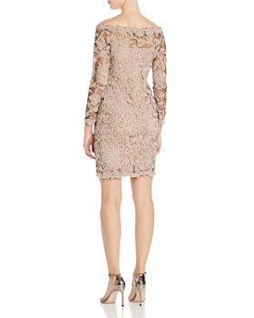 Tadashi Petites - Floral Lace Sheath Dress