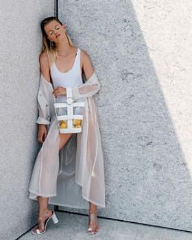 PARISA WANG - Addicted Clear Bucket Bag