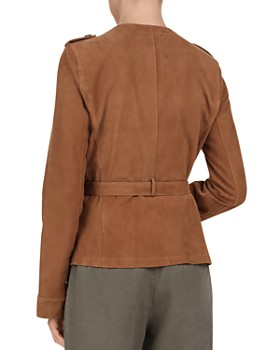 Gerard Darel - Odelya Leather Safari Jacket