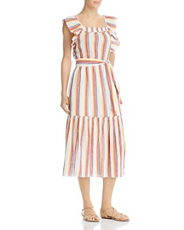 Saylor - Goldia Striped Dress