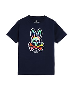 Psycho Bunny - Boys' Tie-Dyed Bunny Tee - 100% Exclusive