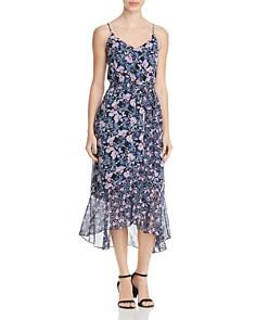 VINCE CAMUTO - Charming Floral Midi Dress
