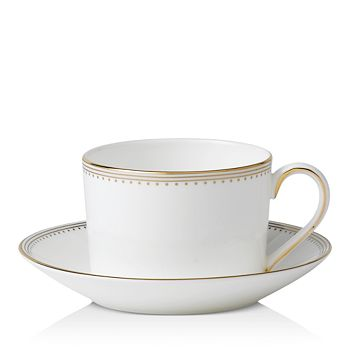Wedgwood - Golden Grosgrain Tea Saucer