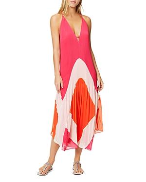 Ramy Brook Jasmin Pleated Maxi Dress