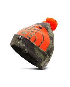 The North Face® - Unisex Camo-Print Ski Tuke Pom Hat - Kids
