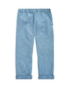 Ralph Lauren - Girls' Chambray Pants - Little Kid