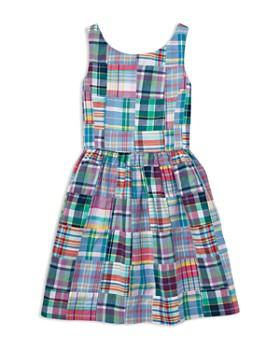 Ralph Lauren - Girls' Patchwork Madras Dress - Big Kid