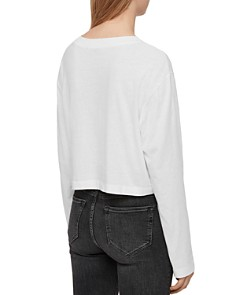 ALLSAINTS - Benno Cropped Tee