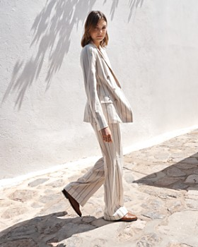 Ralph Lauren - Striped Wide-Leg Pants