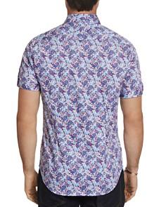 Robert Graham - Paladin Short-Sleeve Floral-Print Slim Fit Shirt