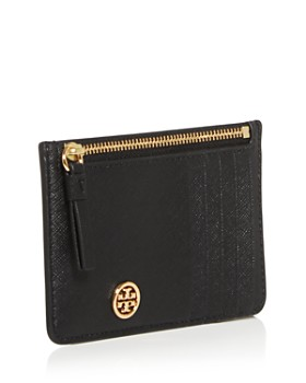 Tory Burch - Robinson Leather Zip-Top Card Case