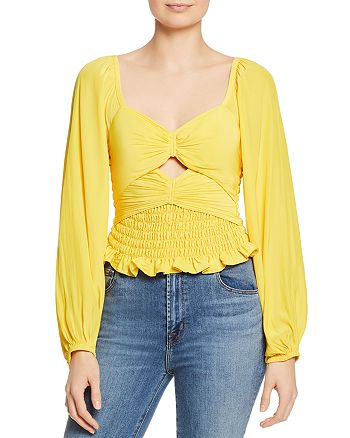 Ramy Brook - Eliana Ruched-Front Top - 100% Exclusive