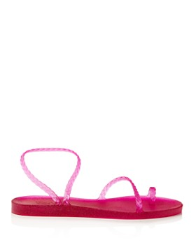 Ancient Greek Sandals - Women's Eleftheria Braided Jelly Sandals