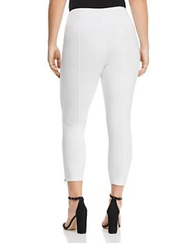 Lyssé Plus - Cropped Zip-Vent Leggings