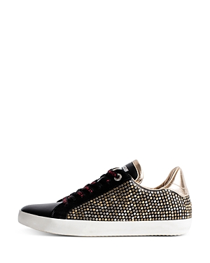 Zadig & Voltaire Sneakers WOMEN'S ZADIG STUDDED LOW-TOP SNEAKERS