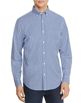 Vineyard Vines - Tucker Gingham Classic Fit Button-Down Shirt