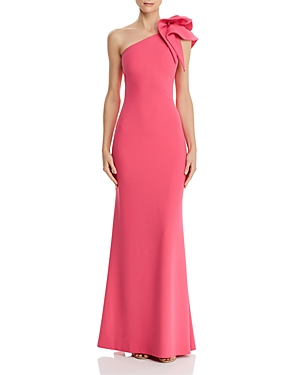 Aqua One-Shoulder Gown - 100% Exclusive