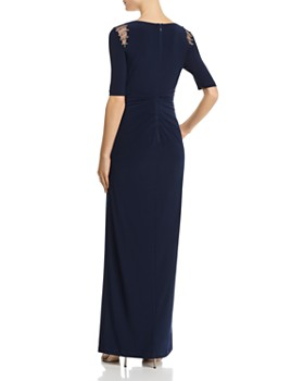 Adrianna Papell - Embellished Jersey Gown