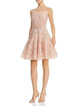 BRONX AND BANCO - Annabelle Fit-and-Flare Dress