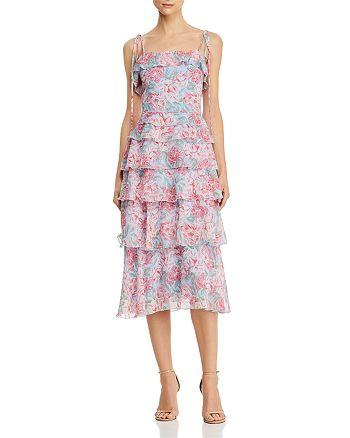 WAYF - Essie Tiered Midi Dress