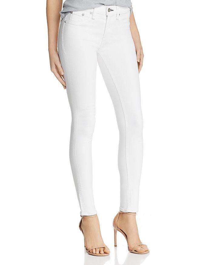 rag & bone - Skinny Jeans in White