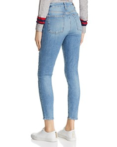 7 For All Mankind - High Rise Ankle Skinny Jeans in Sloan Vintage