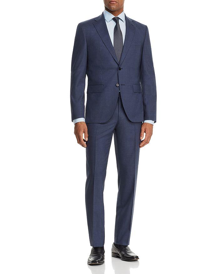 BOSS - Johnstons/Lenon Micro-Stripe Regular Fit Suit