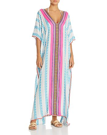 97072bb292 Pitusa Indian Caftan Swim Cover-Up | Bloomingdale's