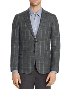 BOSS Hugo Boss - Nobis Windowpane Slim Fit Sport Coat