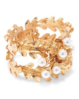 Oscar de la Renta - Acorn & Leaf Cuff Bracelet