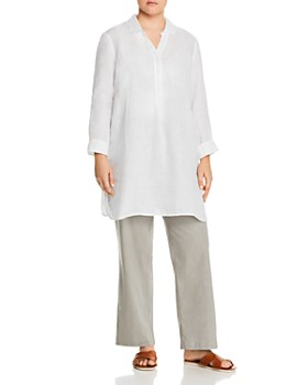 NIC and ZOE Plus - Linen Tunic