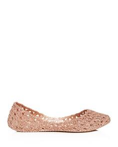 Melissa - Women's Campana Woven Ballet Flats