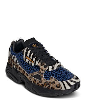 Adidas - Women's Falcon Mixed Media Lace-Up Sneakers
