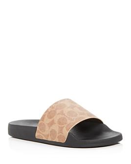 COACH - Women's Udele Slide Sandals