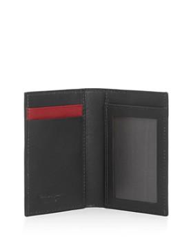 Salvatore Ferragamo - Gancini-Print Vertical Card Case