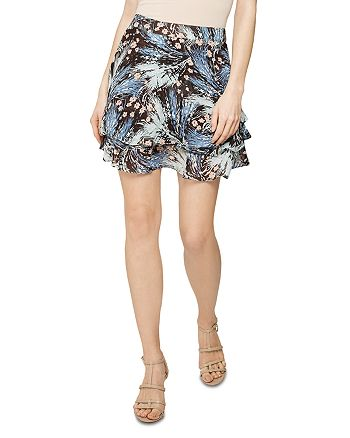 REISS - Hanna Printed Mini Skirt