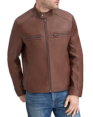 Andrew Marc Jackets WENDELL LEATHER RACER JACKET