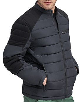 Marc New York - Winslow Mixed-Media Puffer Jacket