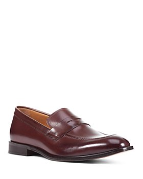 Geox - Men's Saymore Apron-Toe Penny Loafers