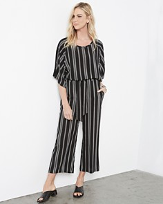 Karen Kane - Striped Tie-Waist Pants