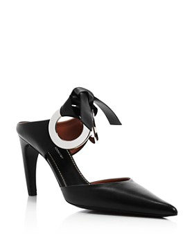 Proenza Schouler - Women's Grommet Pointed Toe High-Heel Mules