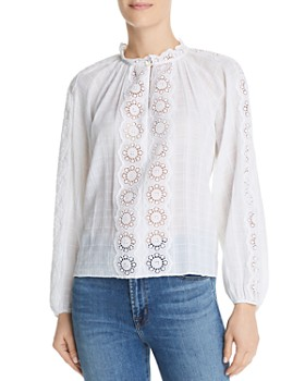 Rebecca Taylor - Cendrine Embroidered Top