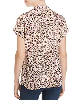 Marled - Leopard-Print Top