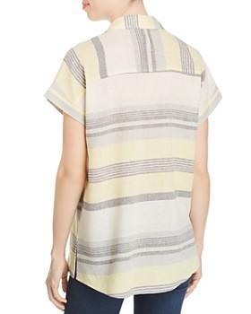 Marled - Striped Short-Sleeve Shirt