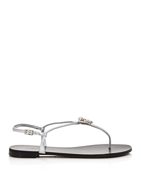 Giuseppe Zanotti - Women's Crystal-Embellished Thong Sandals