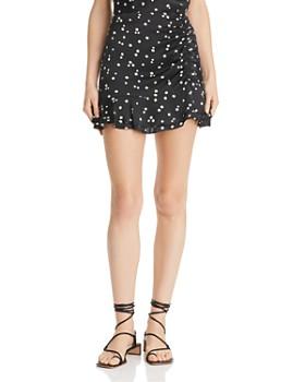 Bec & Bridge - Miss Daisy Ruched Mini Skirt