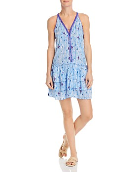 9ebe6272e8 Poupette St. Barth - Bety Ruffled Mini Dress ...