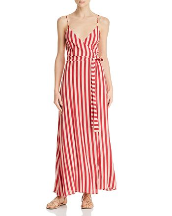 Flynn Skye - Anderson Striped Wrap Dress