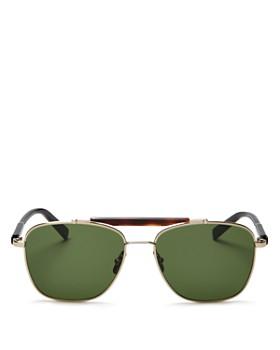 e933955bec3c3 Salvatore Ferragamo - Men s Brow Bar Aviator Sunglasses