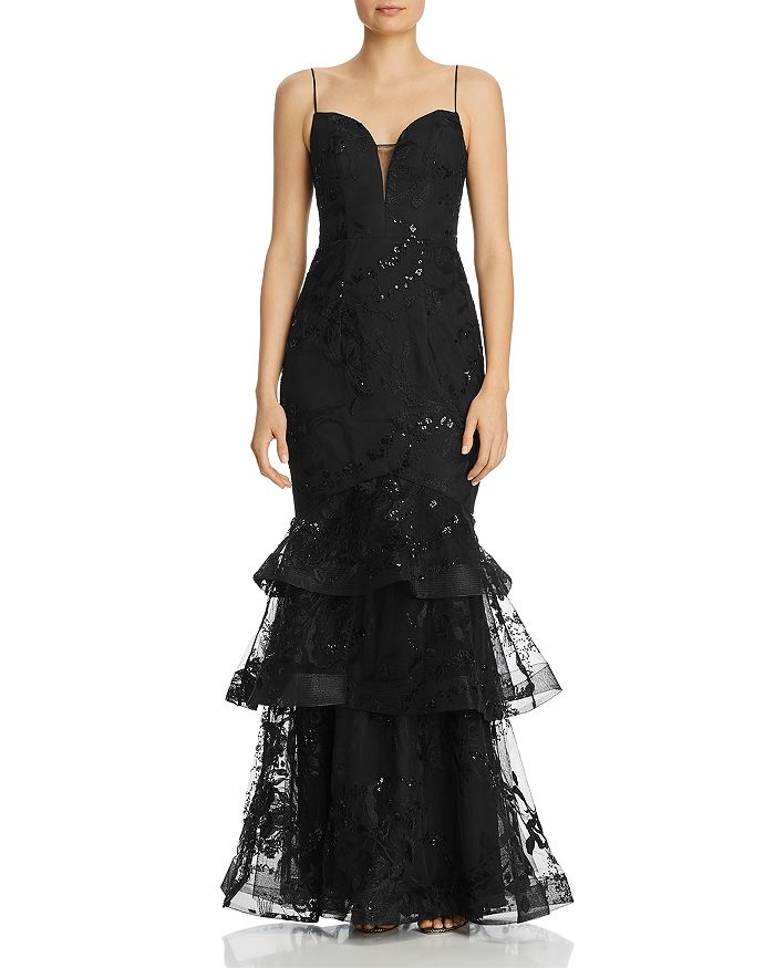 Bariano - Charli Tiered Gown